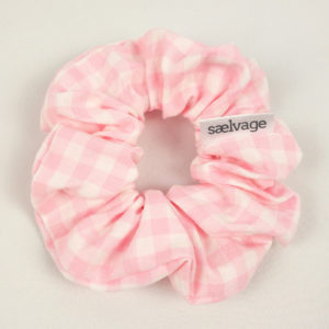 Scrunchie - Pink Gingham