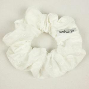 Scrunchie - White Eyelet