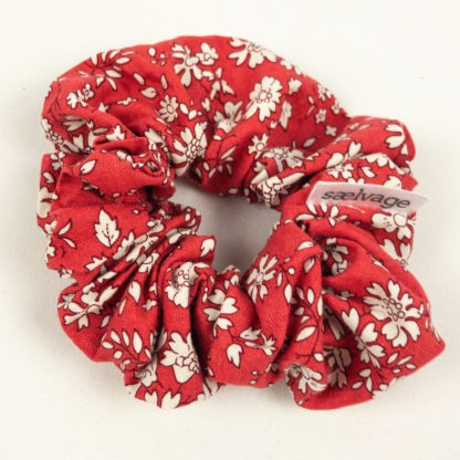 Scrunchie - Red Floral