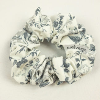 Scrunchie - Grey Floral