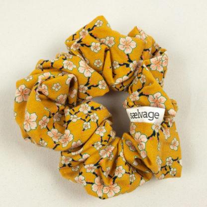 Scrunchie - Mustard Floral