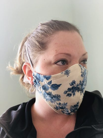 Fitted Mask worn