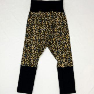 Harem Pants - Cheetah/Black