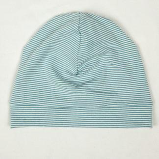 Beanie - Blue Mini Stripes
