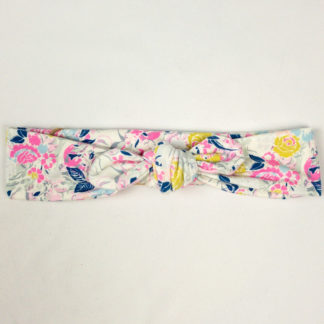 White w/Pink Floral