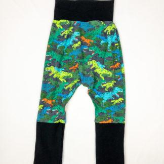 Harem Pants - Dino/Black